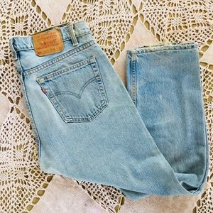 Vintage High wasted Levi's.